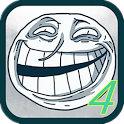 Trollface IV icon