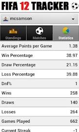 Tracker - for FIFA 12 Screenshot 5
