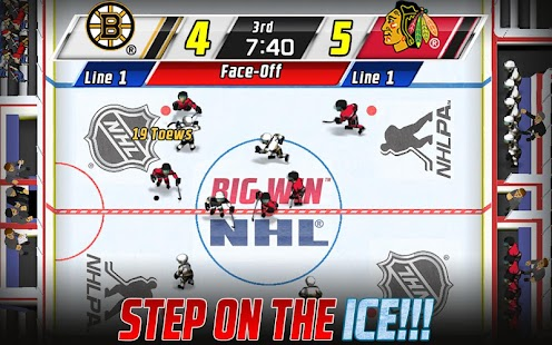 Big Win NHL Hockey - screenshot thumbnail