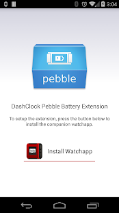 Pebble Battery for DashClock- screenshot thumbnail