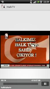 Halk Haber TV Resmi Uygulaması - screenshot thumbnail