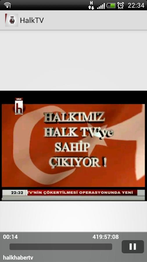 Halk Haber TV Resmi Uygulaması - screenshot