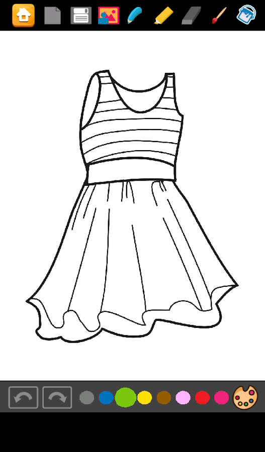 Coloring Dresses Android Apps On Google Play