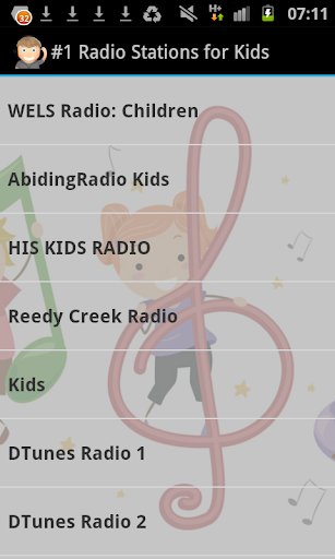 1 Kids Radio Stations