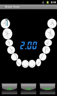 Brush Timer: miniatura da captura de tela