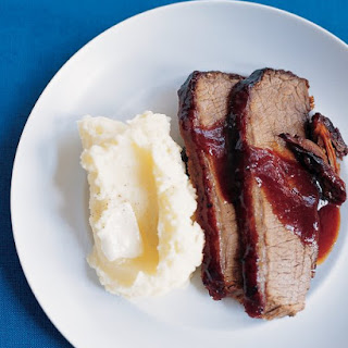 Coffee-Glazed Oven Brisket