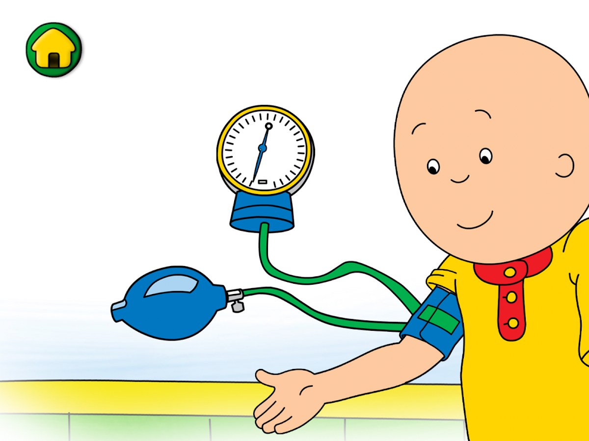 Caillou Check Up Dokter Apl Android Di Google Play
