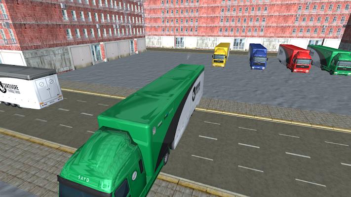 Russian Truck Simulator 3D - screenshot