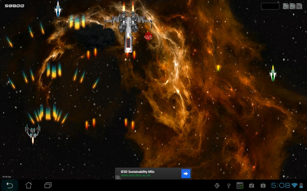 Galaxy Defense War 3D HD - screenshot