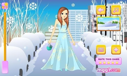 Winter Princess Dress Up - screenshot thumbnail