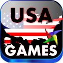 Educational Game for Kids USA icon