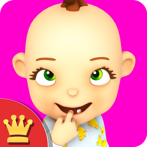 My Baby: Baby Girl Babsy Gold Icon
