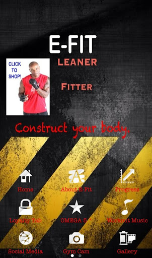 E Fit Workout Fitness Trainer