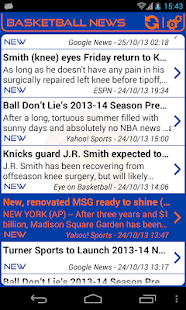 New York Basketball News - screenshot thumbnail