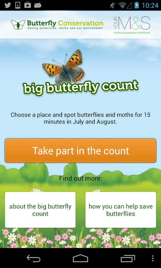 Big Butterfly Count- screenshot