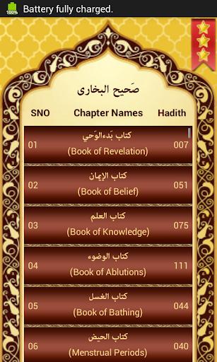 hadith bukhari urdu software