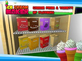 Screenshot of Ice Cream Maker– 3D Cooking
