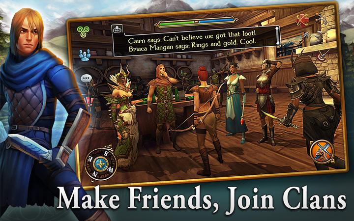 android 3D MMO Celtic Heroes Screenshot 8
