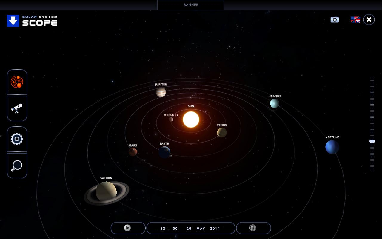 3D Solar System Map - Pics about space