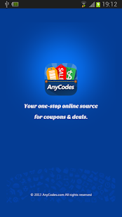 AnyCodes - Coupons & Deals - screenshot thumbnail