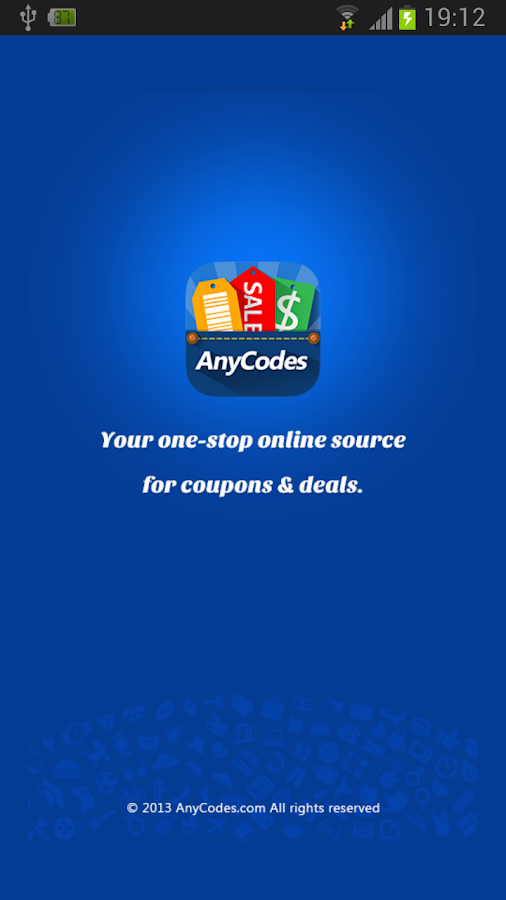 AnyCodes - Coupons & Deals - screenshot