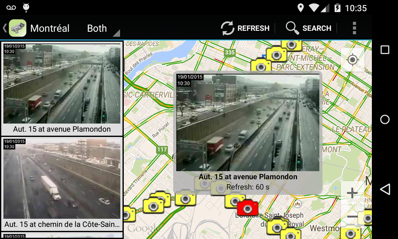 Quebec Traffic Cameras - Android Apps on Google Play