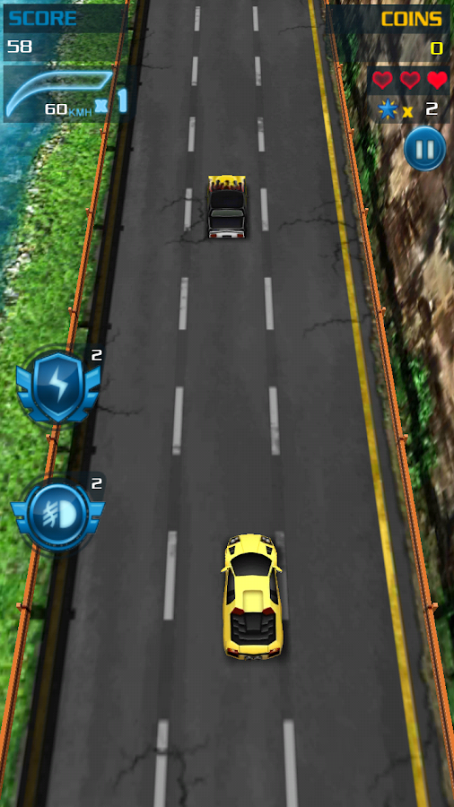 Turbo Car Racing- screenshot