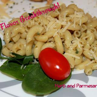 Herb and Parmesan Elbows!