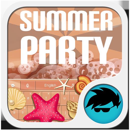夏季派對鍵盤 LOGO-APP點子