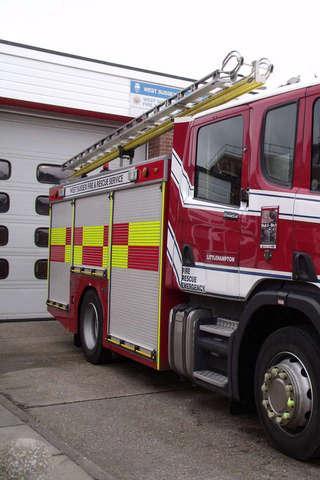 消防车拼图