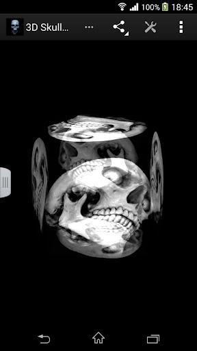 【免費漫畫App】3D骷髏壁紙-APP點子