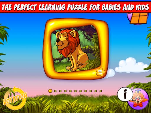 123 Wild Animals Kids Puzzle