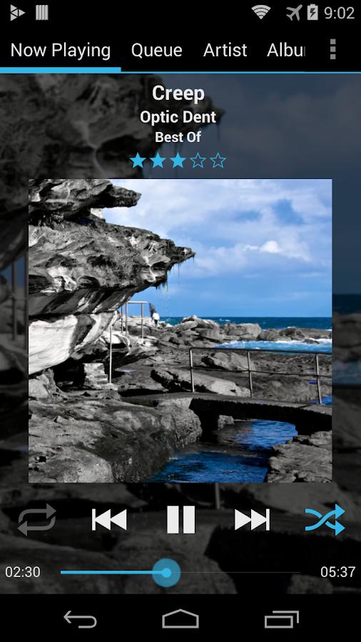 GoneMAD Music Player (Trial) - screenshot
