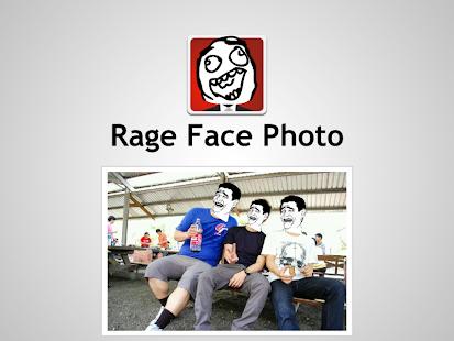 Rage Face Photo