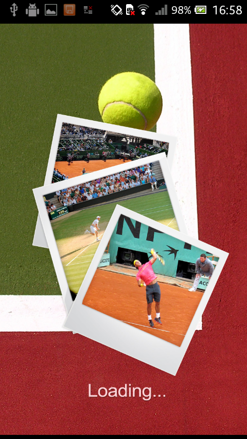 Tennis Puzzle - screenshot