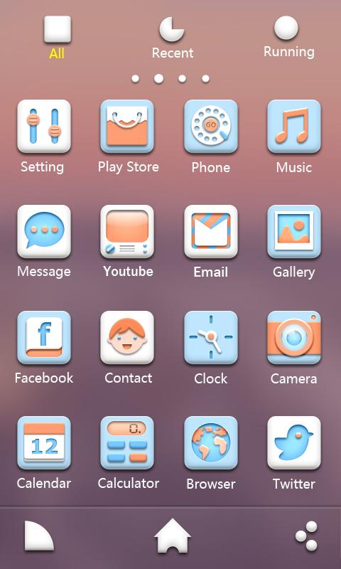 Soft - GO Launcher EX Theme - screenshot