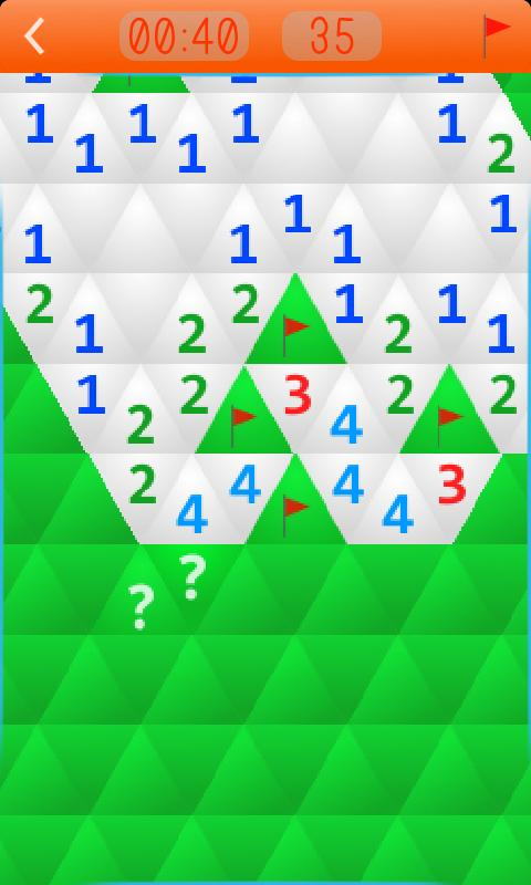Minesweeper Polygon- screenshot