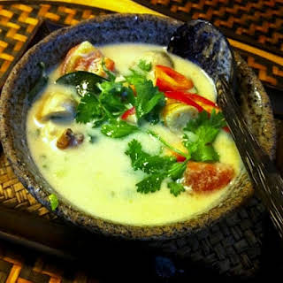 Thai Coconut Chicken Soup.