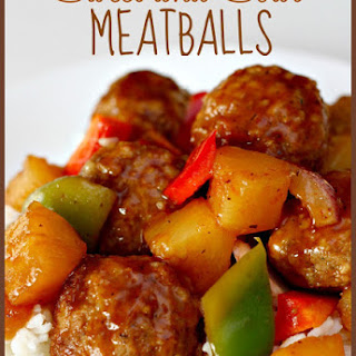 Slow Cooker Sweet and Sour Meatballs Recipe