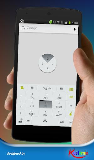 免費個人化App|Kx Grey Keyboard|阿達玩APP