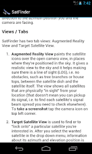 SatFinder - Find TV Satellites - screenshot thumbnail