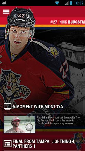 Florida Panthers Official App