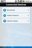 Screenshot of Linksys Connect