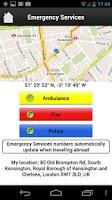Screenshot of In Case of Emergency (ICE)