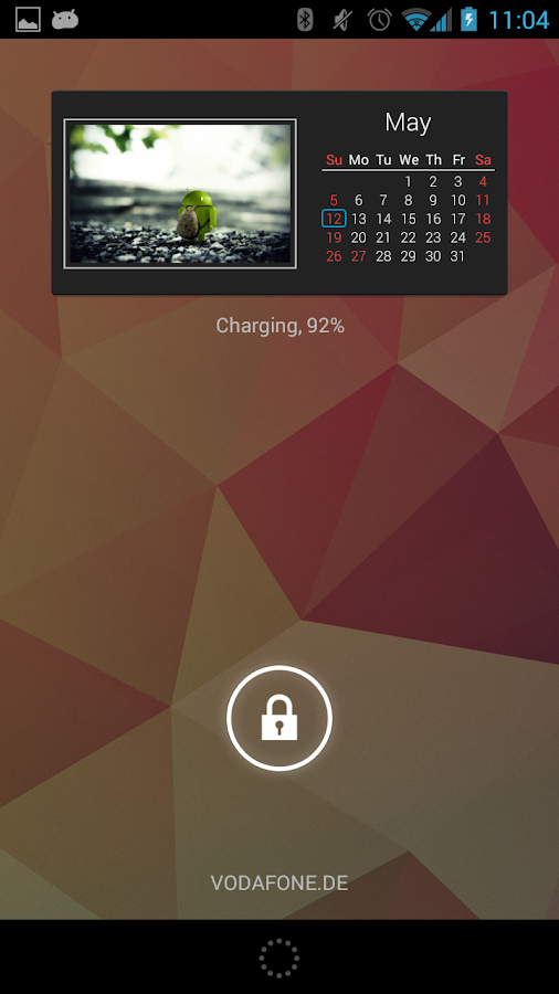 Photo Calendar Widget Free - screenshot
