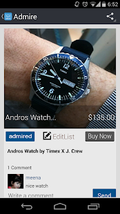 Admire Mobile eCommerce- screenshot thumbnail