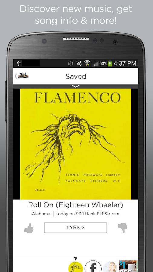 93.1 Hank FM - screenshot
