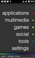 Screenshot of JAMT Black - CM7 Theme - Free