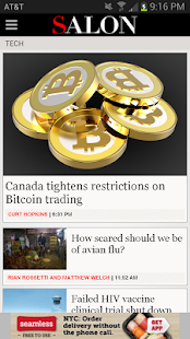 Salon.com - screenshot thumbnail