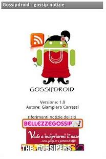 Gossipdroid - gossip news- screenshot thumbnail